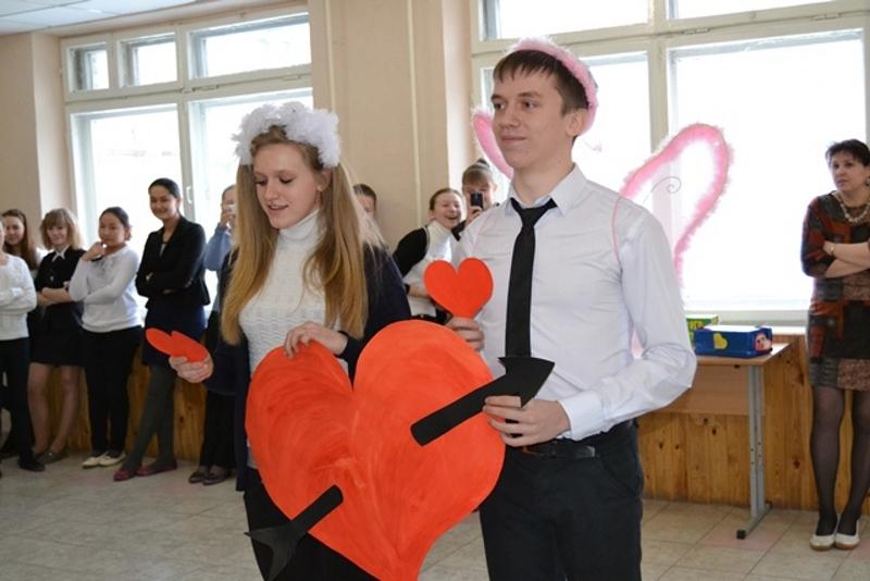 Сценка на День Святого Валентина