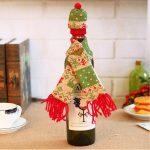 Фото 88: Шапочка и шарфик для бутылки