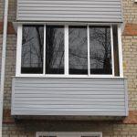 Фото 3: Алюминиевое остекление балкона