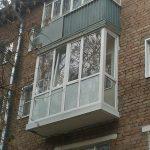 Фото 3: Балкон в хрущёвке