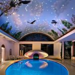 Фото 23: Бассейн с потолком
