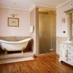 Фото 45: Ванная в английском стиле