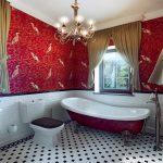 Фото 72: Ванная в британском стиле