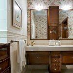 Фото 74: Ванная комната в английском стиле