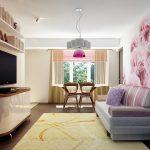 Фото 9: Гостиная в маленькой квартире