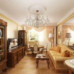 Фото 3: Гостиная дизайн