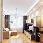Фото 14: Дизайн небольшой гостиной