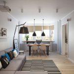 Фото 17: Дизайн гостиной в доме