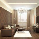 Фото 24: Дизайн гостиной комнаты