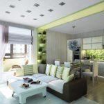 Фото 12: Дизайн квартиры - студии