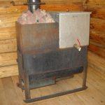 Фото 12: Железная печь в баню