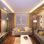 Фото 30: Жёлтая гостиная