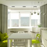 Фото 13: Зелёная кухня