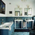 Фото 79: Интерьер ванной комнаты английский стиль