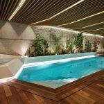 Фото 58: Интерьер в бассейн