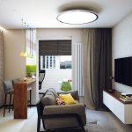Фото 30: Интерьер 1 комнатной квартиры