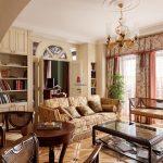 Фото 39: Классический стиль в интерьере гостиной