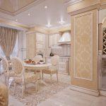 Фото 52: Кухня гостиная