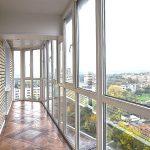 Фото 67: Остекление балкона в доме