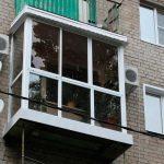 Фото 68: Остекление балкона фото