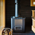 Фото 55: Печь для бани на дровах