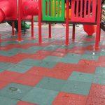 Фото 48: Резиновая плитка для площадки