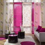 Фото 49: Розовые шторы
