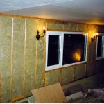 Фото 53: Утеплитель стены дома