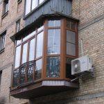 Фото 62: Французский балкон