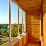 Фото 17: Деревянный балкон