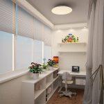 Фото 18: Дизайн балкона в маленькой квартире