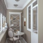 Фото 19: Дизайн балкона в современном