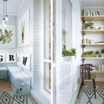 Фото 27: Дизайн маленького балкона