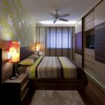 Фото 8: Дизайн узкой спальни