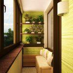 Фото 30: Дизайн балконов