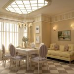 Фото 12: Дом в стиле прованс гостиная