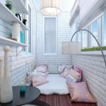Фото 40: Интерьер балкона