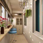 Фото 41: Интерьер и дизайн балконов