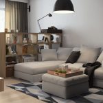 Фото 50: Интерьер однокомнатной квартиры