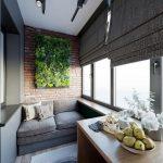 Фото 47: Как обустроить балкон