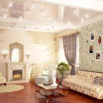 Фото 19: Камины в стиле прованс в зале