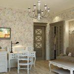 Фото 33: Комната в стиле прованс