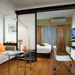 Фото 70: Спальня гостиная с фото