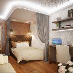 Фото 52: Спальня и гостиная фото