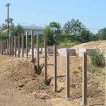 Фото 52: Столбики под забор
