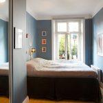 Фото 33: Узкая спальня интерьер