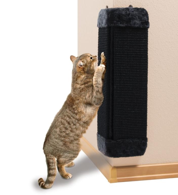 Как выбрать готовую когтеточку для кошки или сделать ее своими руками?