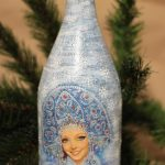 Фото 1: Бутылка шампанского
