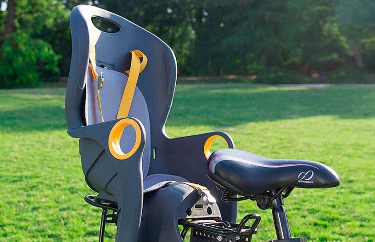 Какие современные варианты детского кресла есть на велосипед?