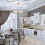 Фото 5: Дизайн большой кухни